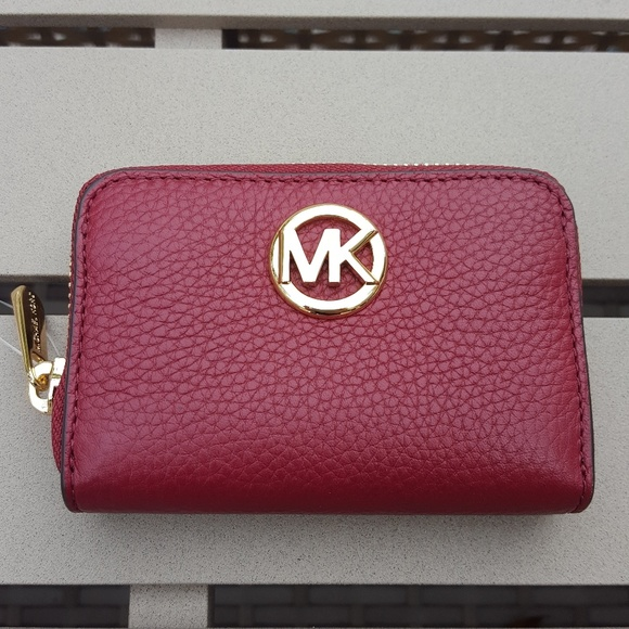 7d7d32f35c2e17 MICHAEL Michael Kors Bags | Nwt Michael Kors Fulton Zip Coin Case ...